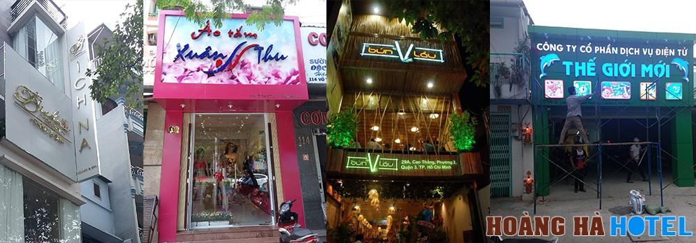 Gia công bảng hiệu hộp đèn đẹp tại Thành phố Hồ Chí Minh